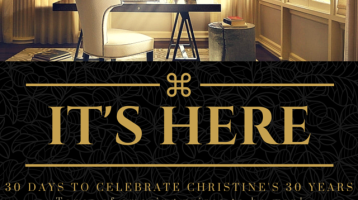 30 Days to Celebrate Christine's 30 Years!